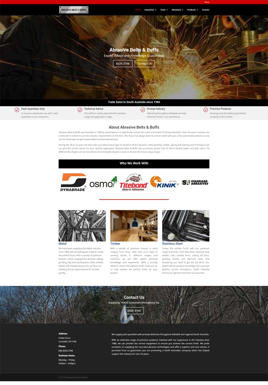 Website Design Seaford - Wholesale