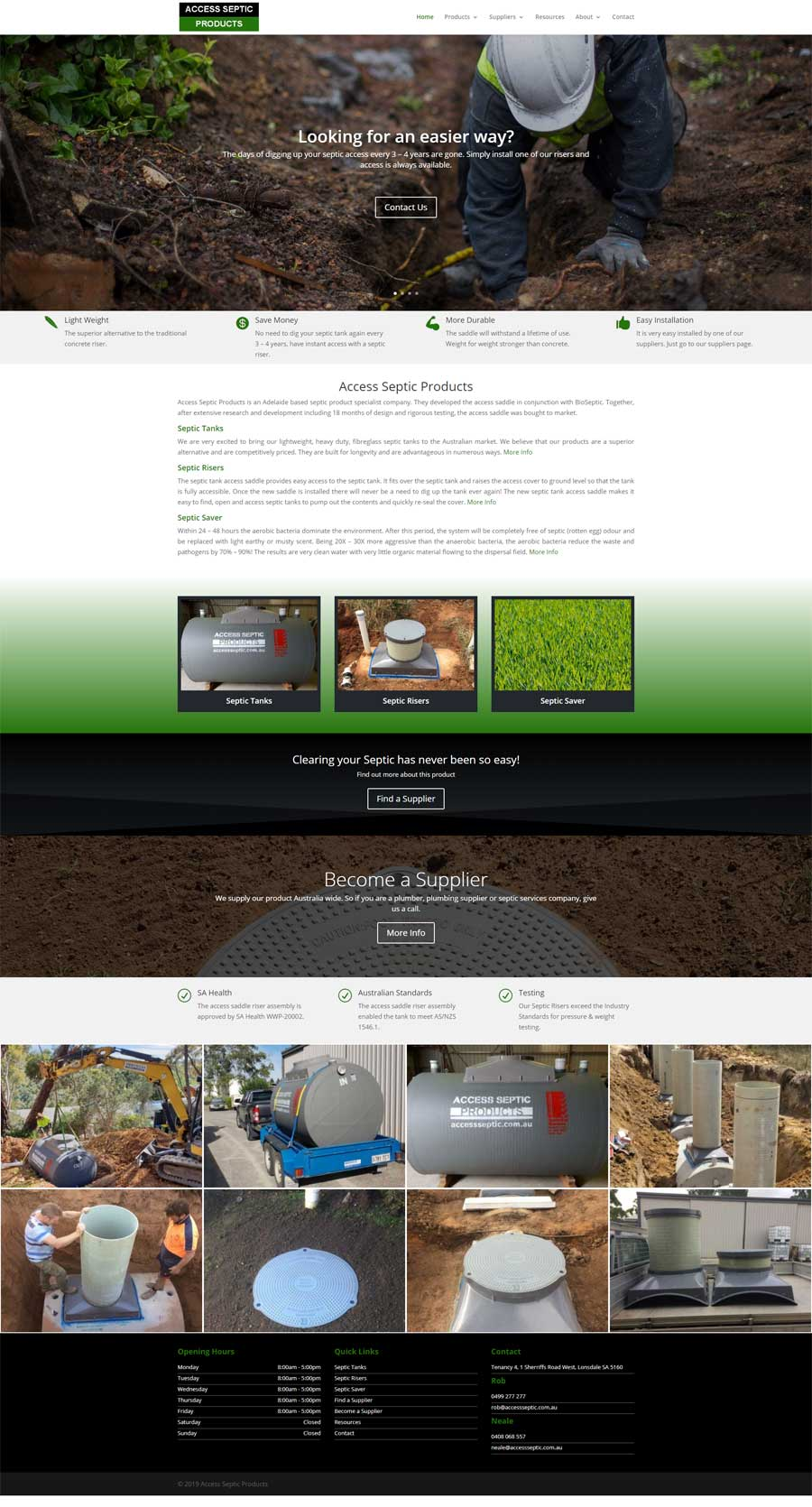 Website Design Flagstaff Hill - Manufacturing