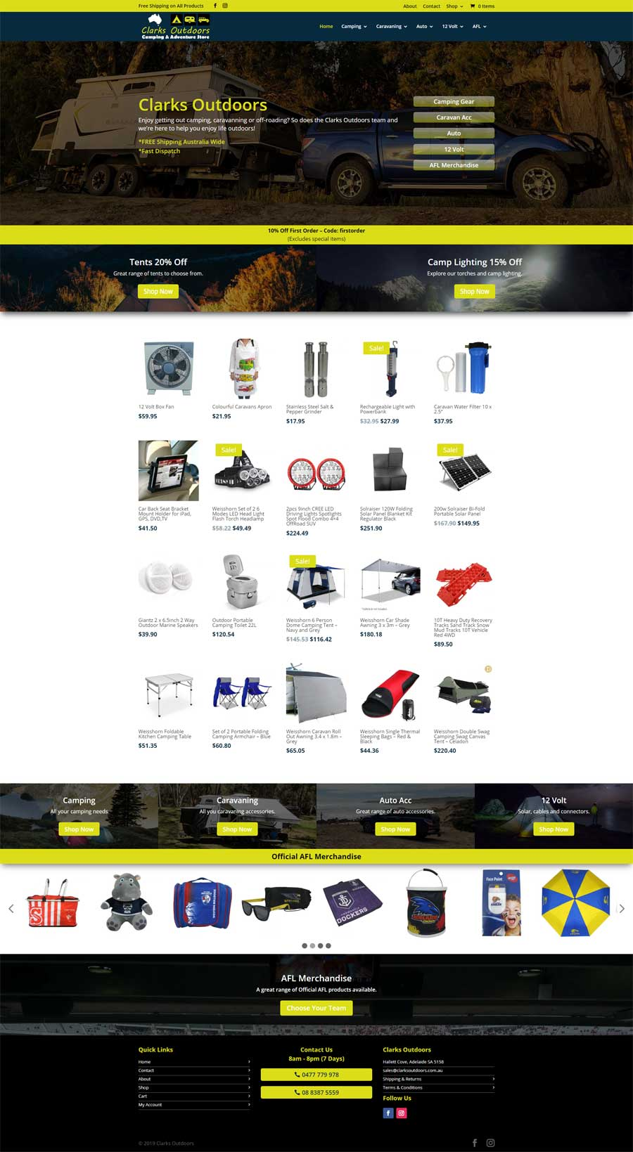 Website Design McLaren Flat - E-Commerce
