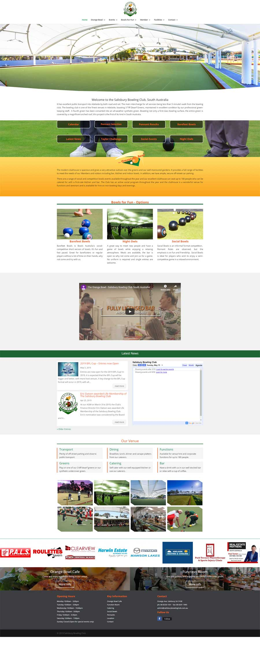 Website Design Glenelg - Sporting