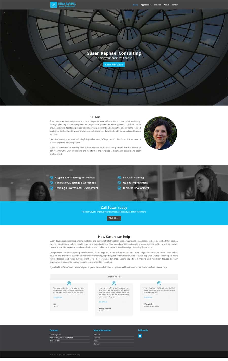 Website Design McLaren Vale - Consulting
